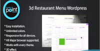 Restaurant 3d menu wordpress
