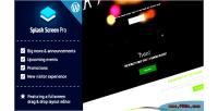 Screen splash wordpress for pro