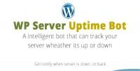 Server wp uptime bot