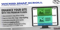 Snap wicked plugin wp scroll