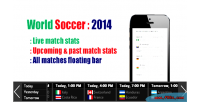 Soccer world 2014 plugin wordpress stats