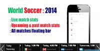 Soccer world 2014 plugin wordpress stats