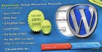 Step dynamic process wordpress for panels