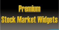 Stock premium market widgets