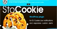 Stocookie wp plugin cookie law compliance notifications custom and