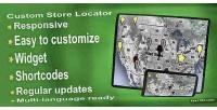 Custom store locator wp plugin finder store