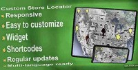 Custom store locator wp plugin finder store