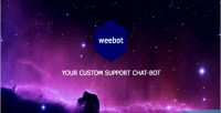 Support weebot chat bot