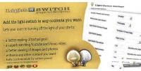Switch light wordpress for plugin