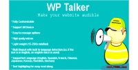Talker wp make audible wordpress your