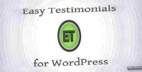 Testimonials easy wordpress for plugin