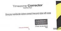 Timezone wp corrector