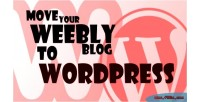 To weebly plugin import wordpress