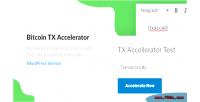 Transaction bitcoin plugin wordpress accelerator