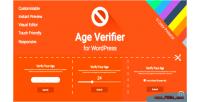 Verifier age for wordpress