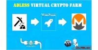 Virtual adless crypto wordpress farm for plugin