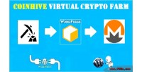 Virtual coinhive crypto wordpress farm for plugin