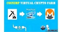 Virtual coinimp crypto wordpress farm for plugin