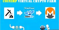 Virtual coinimp crypto wordpress farm for plugin
