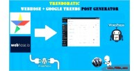 Webhose trendomatic google trends generator post wordpress for plugin