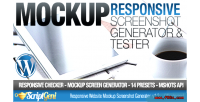 Website responsive tester generator screenshot mockup