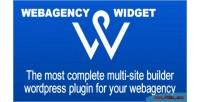 Widget webagency multi plugin builder website