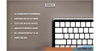 Wordpress assign