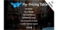 Wordpress fly pricing table