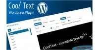 Wordpress responsive text rotator & effects