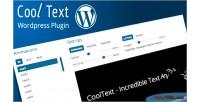 Wordpress responsive text rotator & effects