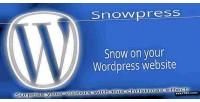 Wordpress snowpress christmas plugin