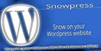 Wordpress snowpress christmas plugin