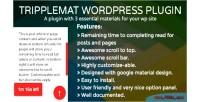 Wordpress tripplemat plugin