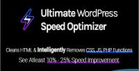 Wordpress ultimate speed optimizer