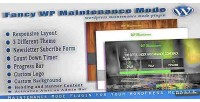 Wp fancy maintenance plugin wordpress mode