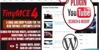 Youtube search & place wordpress for wizzard