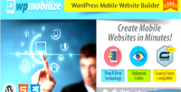 Mobile wordpress plugin builder website