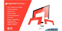 Mockups perspective wordpress plugin