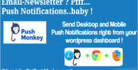 Monkey native desktop & mobile push wordpress for notifications monkey