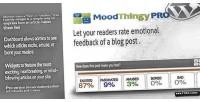 Moodthingy mood rating widget pro wordpress for
