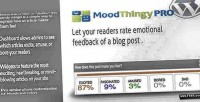 Moodthingy mood rating widget pro wordpress for