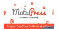 Motopress content editor visual wordpress for builder