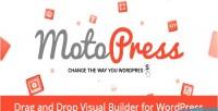 Motopress content editor visual wordpress for builder