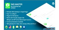Multipurpose smsmaster sms wordpress for gateway