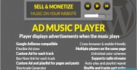 Music ad player