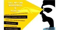 My call cab in plug wordpress