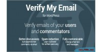 My email for wordpress verify users & auto comments the approve my