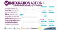 Ajax smart addon integration subscribe