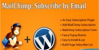 By subscribe plugin wordpress mailchimp