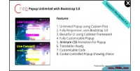 Creo popup unlimited with 0 3 bootstrap